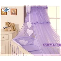 3-Delig Bedset Two Hearts Voile Paars | 8718889000159