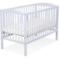 Baby Ledikant Grijs Hartje | 5908297432922