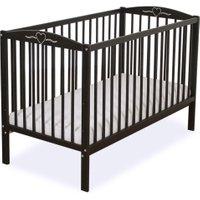 Baby Ledikant Hartje Donkerbruin | 5908297429816