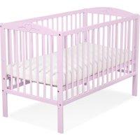 Baby Ledikant Roze Hartje | 5908297432939