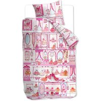 Beddinghouse Kinderdekbedovertrek Princess Wardrobe Pink | 8715769522268