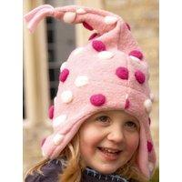 Buggy Snuggle Kindermuts Pom Pom roze XS | 5055284502530