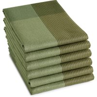 DDDDD Theedoek Blend Olive Green (6 stuks) | 8719002137820