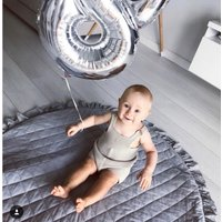 Dolly Speelkleed Ruches Antraciet-100 cm | 8718889097241