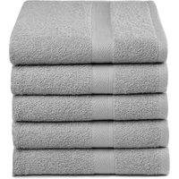 Handdoeken Grijs (5 stuks)   8714305070829