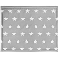 Jollein Boxdek 75x95cm Little star dark grey | 8717329320536