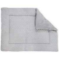 Jollein Boxkleed Fancy Knit Soft Grey 80x100cm | 8717329340039