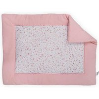 Jollein Boxkleed Tiny Waffle Soft Pink 80x100cm | 8717329345003