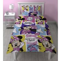 Minnie Mouse Dekbedovertrek Office New! | 5055285406844