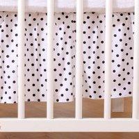 My Sweet Baby Bedrok Dots/Zwart 70x140cm | 8718889083169