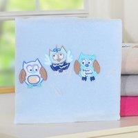 My Sweet Baby Deken 'Owls' Blauw | 8718889072309
