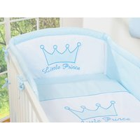 My Sweet Baby Hoofdbeschermer 'Little Prince' Blauw | 8718889073047