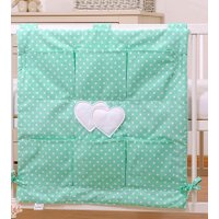 My Sweet Baby Opbergzak Two Hearts Dots/Mint | 8718889073610