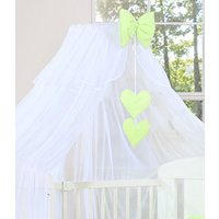 My Sweet Baby Sluier Chic Voile Wit/Lime | 8718889074570