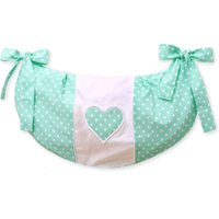 My Sweet Baby Speelgoedzak Two Hearts Mint/Dots | 8718889075164