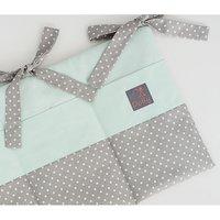 Opbergzak Dolly Dots Mint/Grijs | 8718889089604