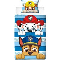 Paw Patrol Dekbedovertrek Peek Chase Marshall Rubble | 5056197100509