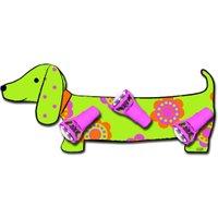 Plafondlamp Teckel Hond Groen | 4003028304576