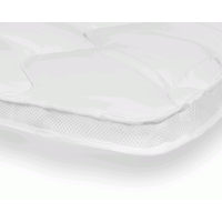 Sleeptime 3D AIR Hotel Matras Topper White-90 x 210 cm | 8719242007136