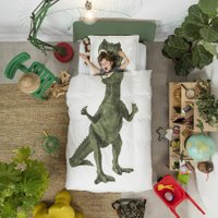 Snurk Beddengoed Dinosaurus Rex-140×200/220 | 8719323649408