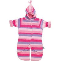 Split Voetenzak Pink Stripe 0-6mnd | 5055284502905