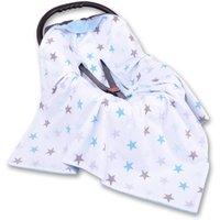 My Sweet Baby Wikkeldeken Stars Grijs-Blauw 0+ 3/5 punts | 8718889098583